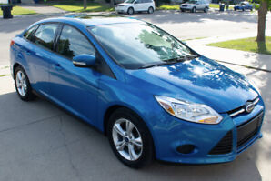 2013 Ford Focus SE Sedan (original owner, 59,800km)