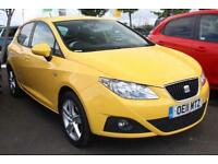 2011 SEAT Ibiza 1.4 16V 85 Sport 5-Door Petrol yellow Manual