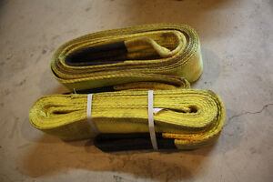 Heavy duty tow recovery straps London Ontario image 1