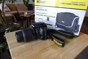 Nikon D3100 Plus Nikon Accessory Package