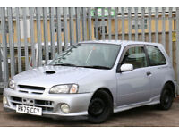 Toyota STARLET GLANZA V TURBO RUST FREE CAR, MUST BE SEEN EP91