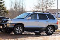 2002 Hyundai Santa Fe GLS SUV, Crossover