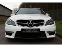 2011 61 MERCEDES-BENZ C CLASS 6.2 C63 AMG EDITION 125 4D AUTO 457 BHP