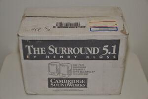 Cambridge Soundworks Dipole Surround Speakers