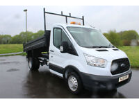 Ford Transit 350 Tipper 15 Reg Very Low Mileage Diesel DRW