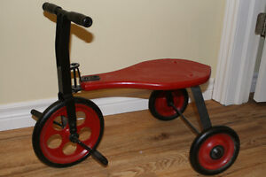 Antique peddle trike