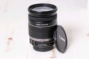 Canon EF-S 18-200mm f/3.5-5.6 IS lens in perfect condition