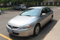 2004 Honda Accord LX Sedan LOW KM!! Private Sale. Priced to Sell