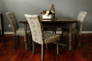 5 piece Jacobean Dining Set by Simply Rewritten