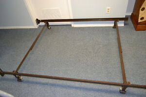 ADJUSTABLE METAL BED FRAME QUEEN OR DOUBLE