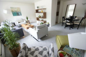 Spacious 2 bedroom apartment in downtown North Bay