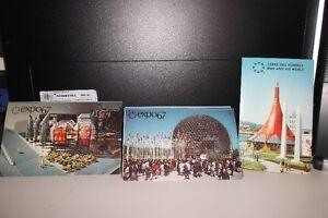 cartes postales et passeport  expo 1967
