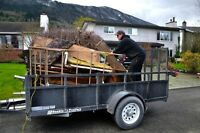 Cheap junk removal with Bobby 880-3286 construct waste garbage