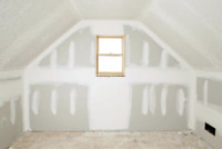 Drywalling, Mudding And Tapping, Sanding and Painting