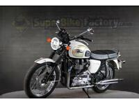 2014 14 TRIUMPH BONNEVILLE T100 865CC 0% DEPOSIT FINANCE AVAILABLE