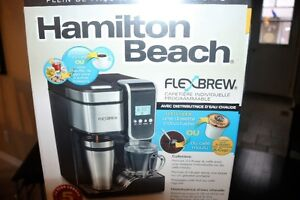 flex brew coffee maker ( brand new , box never opened )