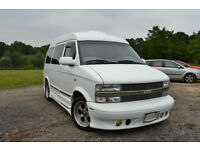 FRESH IMPORT 2001 51 PLATE CHEVROLET ASTRO DAY VAN GMC SAFARI LHD V6 LUXURY MPV