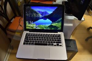 Mac Book Pro with 16 Gig Ram and 500 Gig SSD Hard drive