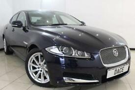 2012 61 JAGUAR XF 2.2 D LUXURY 4DR AUTOMATIC 190 BHP DIESEL