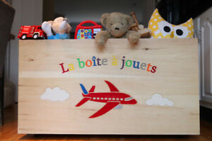 BEAUTIFUL TOY BOXES