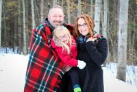 Winter Photo Sessions!  $65