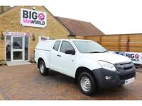 2014 ISUZU D-MAX TD 163 4X4 EXTENDED CAB WITH TRUCKMAN TOP PICK UP DIESEL