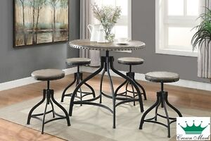 Adjustable 5-Piece Dinette