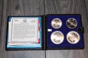 Coffret collection monnaie royale canadienne olympiques Montréal