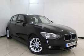 2012 12 BMW 1 SERIES 1.6 116D EFFICIENTDYNAMICS 5DR 114 BHP DIESEL