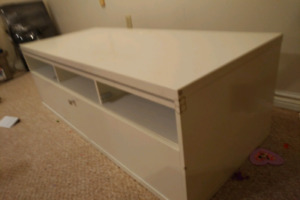 TV stand with drawers TV table