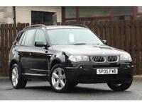 2005 BMW X3 3.0 I SPORT 5DR ESTATE PETROL