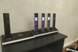 Cordless Phone System with 5 Handsets/Bluetooth/Voicemail