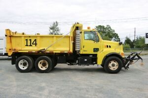 Sterling LT9511 Dump Truck with 11 Ft Plow + 4 Seasons Dump Box