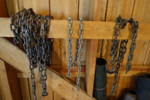 Lift Chains and Tractor Tire Chains