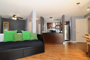 Open House, 2 bed and den, 2 bath with a club house.  Green Belt