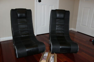 GAMING CHAIRS    2 X-ROCKERS!