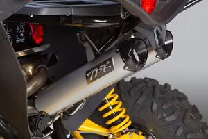tbr dual exhaust for can-am maverick 1000