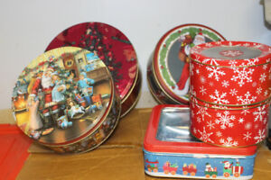 Christmas Tins/Boxes