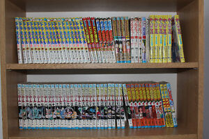 JAPANESE ANIME(manga)books