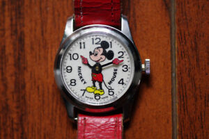 Vintage Mickey Mouse Watch.