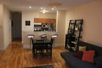 Fully Furnished Plateau 4 1/2 with available indoor parking
