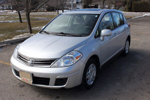 2012 Nissan Versa 1.8 S Hatchback Includes Snow Tires on Rims