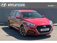 2018 Hyundai i40 1.7 CRDi SE Nav Blue Drive (141ps) Diesel red Semi Auto