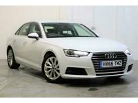 2016 Audi A4 2.0 TDI ULTRA SE 4d 148 BHP Saloon Diesel Manual