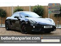 2014 Porsche Cayman 2.7 24V PDK AUTOMATIC BLACK PACK 2d 275 BHP Coupe Petrol Aut