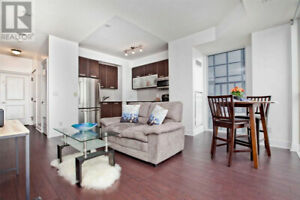 Functional Open Concept,1+1Beds,1Bath,28 TED ROGERS WAY Toronto
