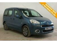 2013 Peugeot Partner Tepee Automatic Wheelchair Accessible Disabled Access Mobil