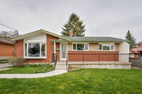 Bungalow with 2 Bedroom Basement Apartment!