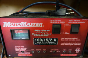 MotoMaster Battery Charger and Century Battery Charger