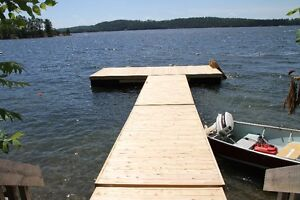 Cedar Floating Docks 6'X16'starting at 1899$ a section